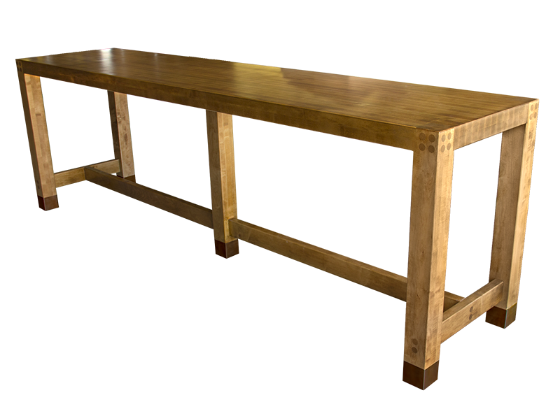 Bar tops communal and feature tables table topics - Restaurant communal tables ...